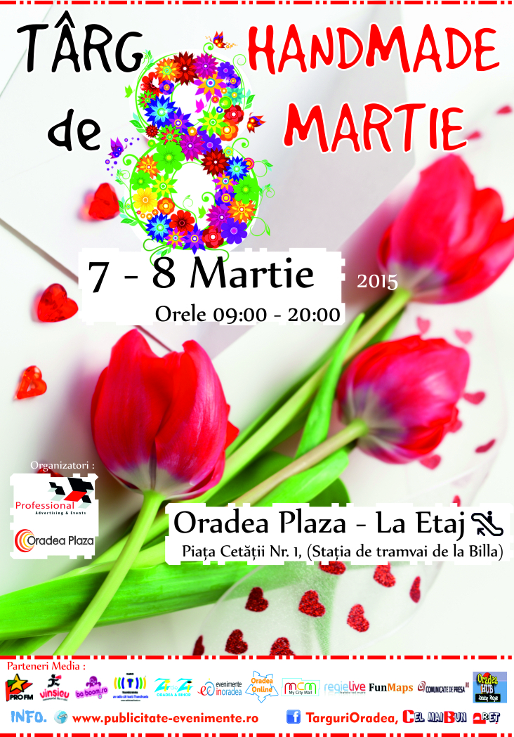 Targ Handmade de Martisor 7 - 8 Martie 2015 Oradea Plaza