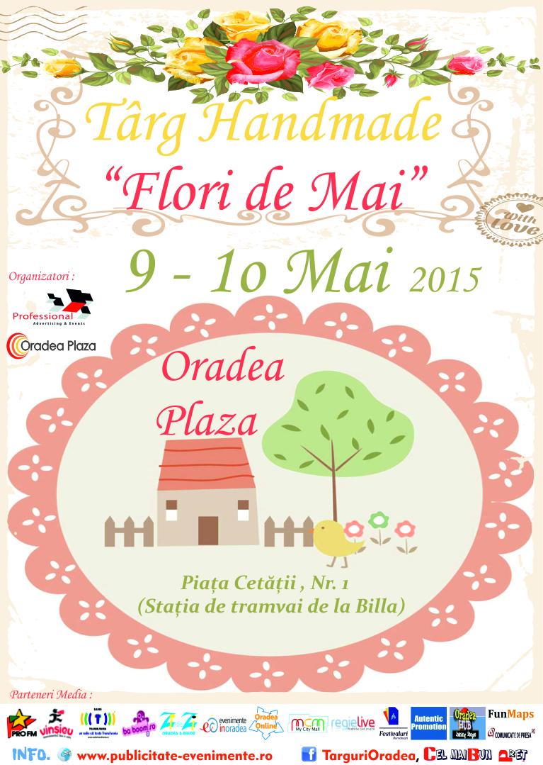 Targ de Handmade - Flori de Mai 2015 Oradea Plaza
