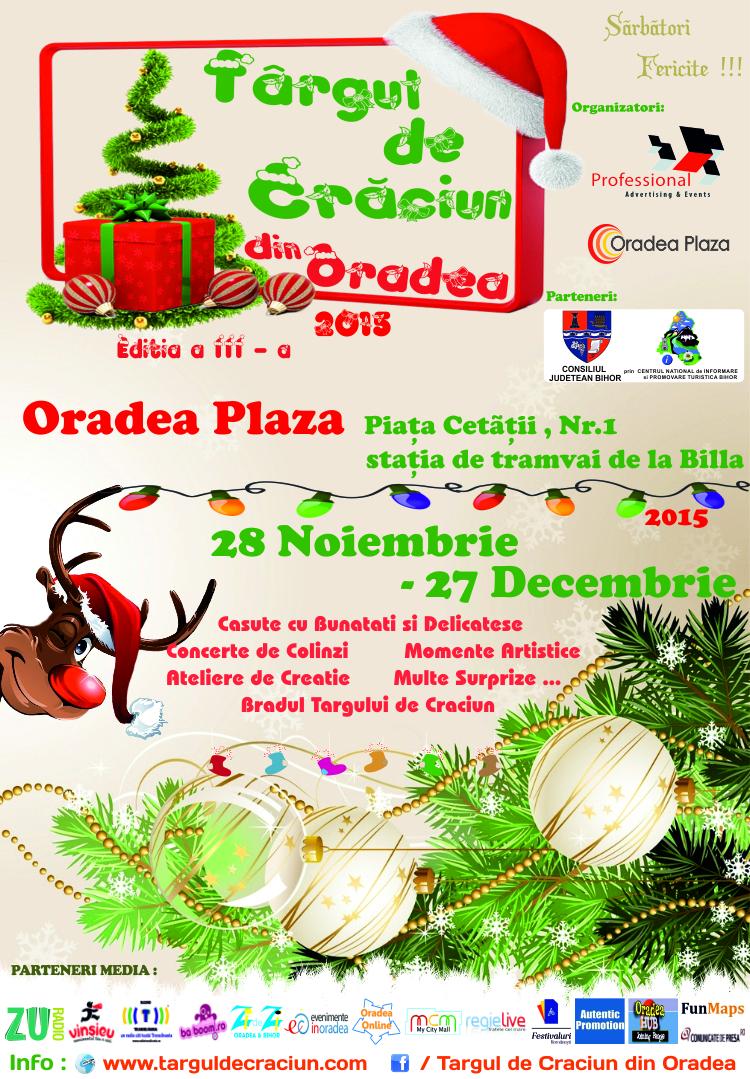 Targul de Craciun din Oradea , Oradea Plaza 2015