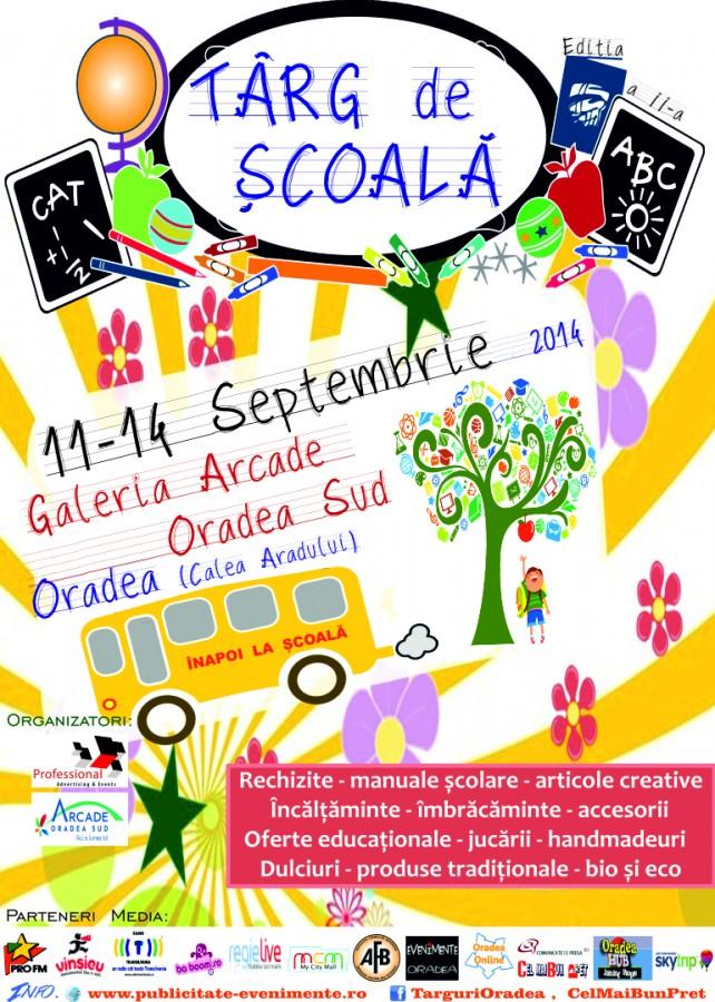 Afis Targ de Scoala 11-14 Septembrie 2014 Oradea