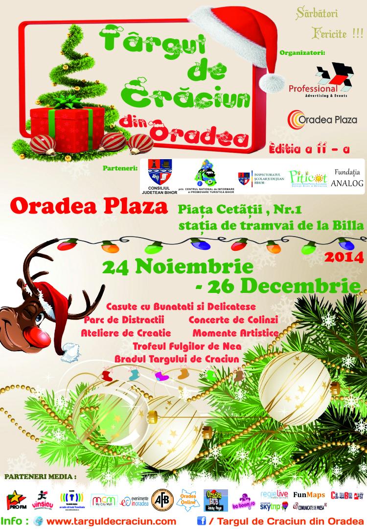 Targul de Craciun din Oradea , Oradea Plaza 2014