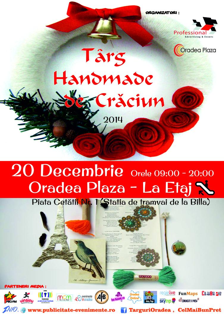 Targ Handmade de Craciun 20 Decembrie 2014 Oradea