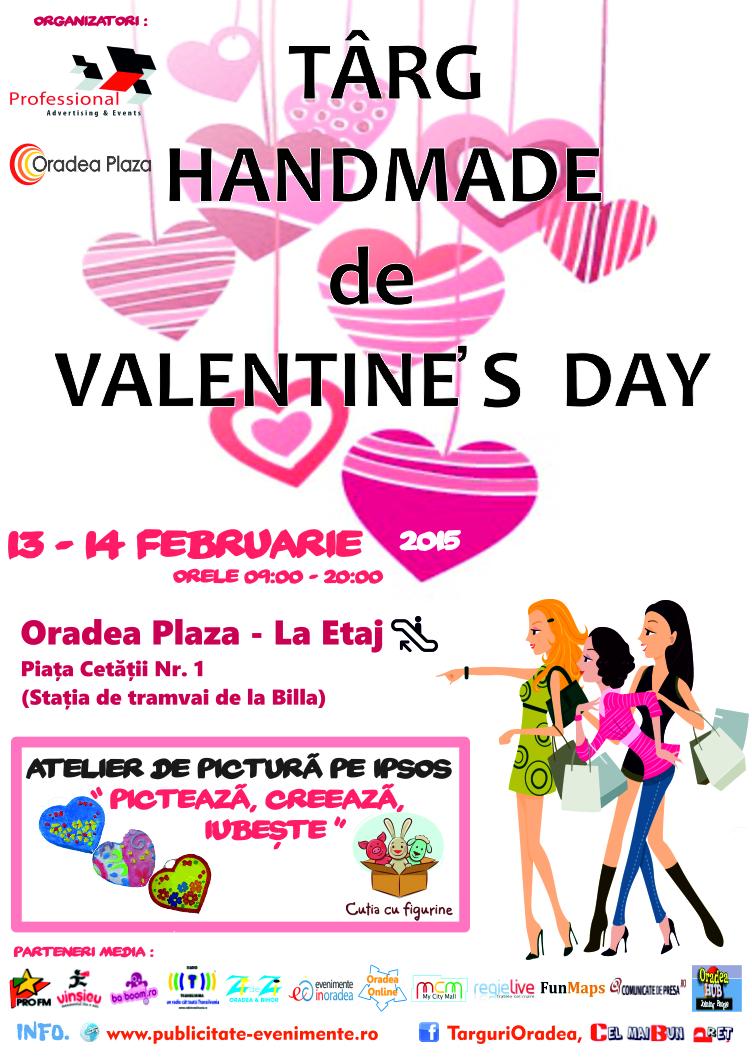 Targ Handmade de Valentine s Day 13- 14 Februarie 2015