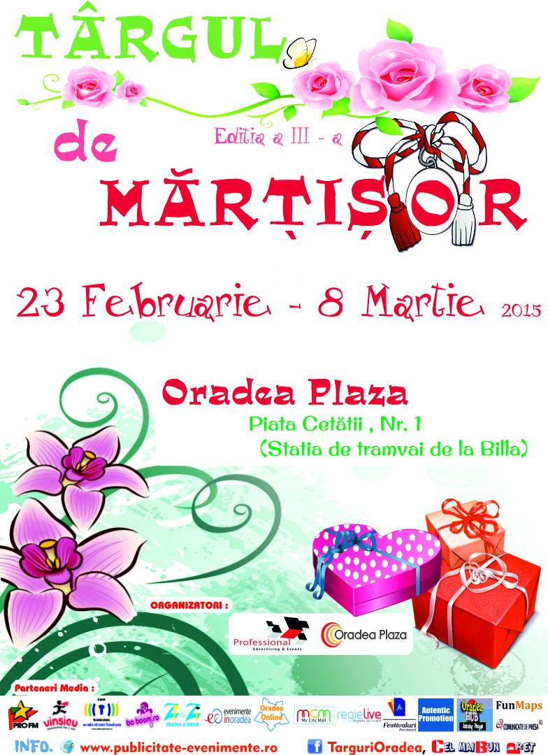 Targ de Martisor 2015 Oradea Plaza - Afis