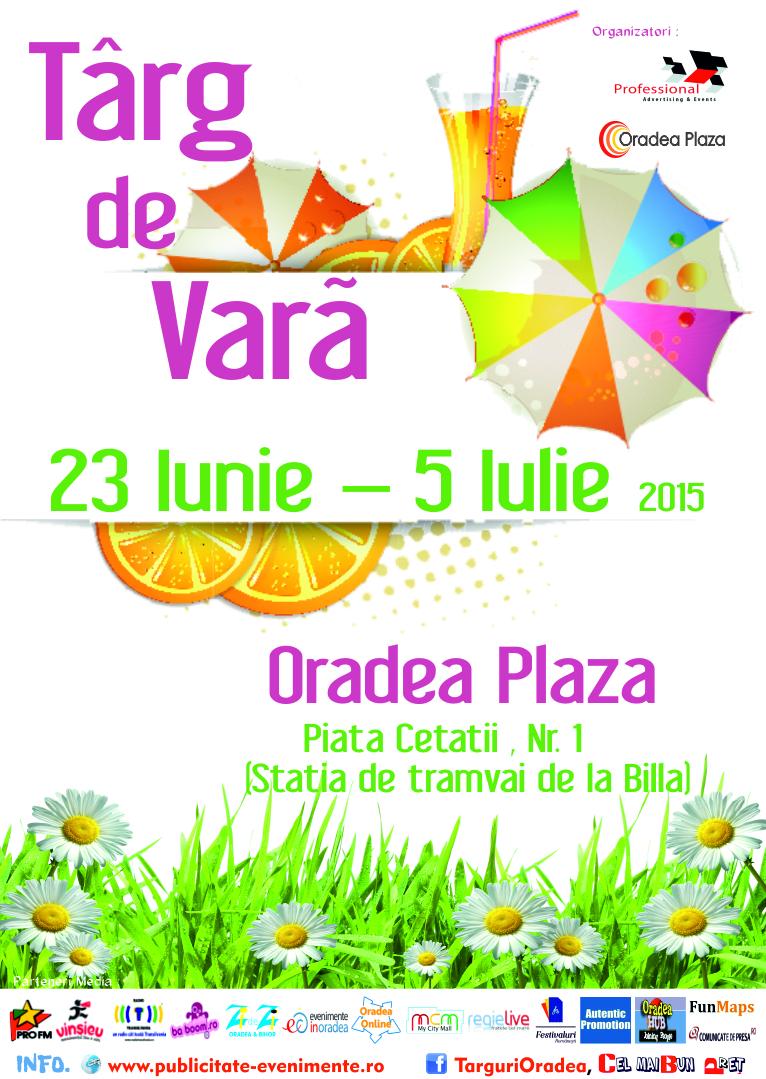 Targ de Vara - Oradea Plaza 2015