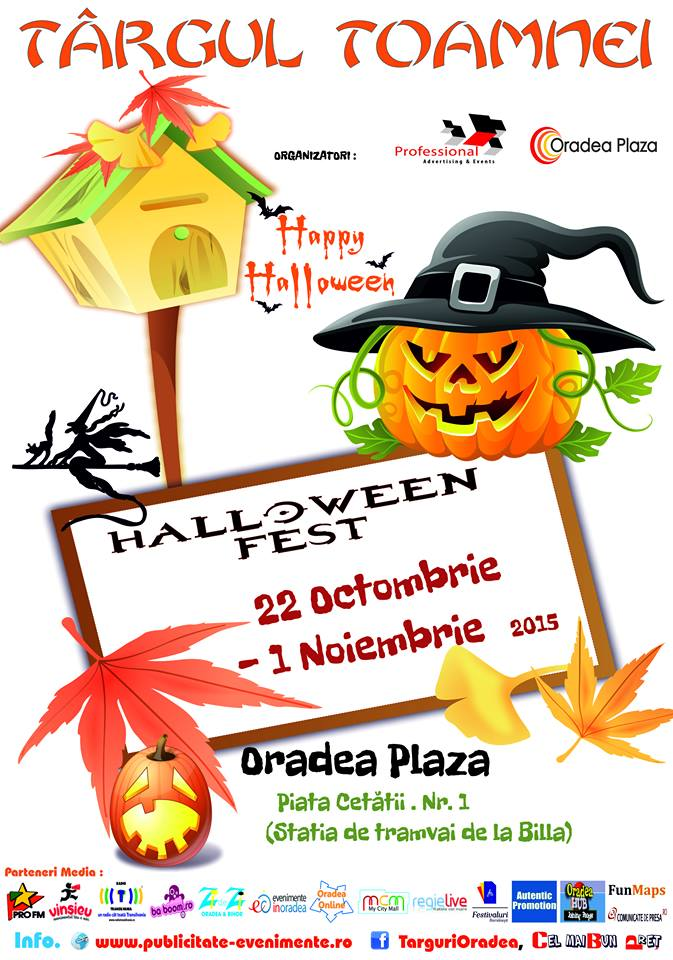 Targul Toamnei - Halloween Fest Octombrie 2015
